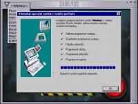 Operační systém úspěšně odstraněn